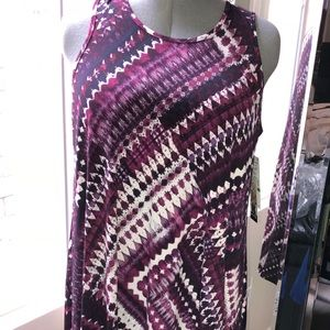 NWT KAREN KANE Pink/Purple Dress
